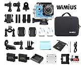 wifi機能搭載 4k カメラ スポーツカメラ 防水カメラ バイクや自転車、カートや車に取り付け可能
