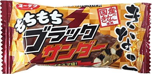 有楽製菓 もちもちブラックサンダー きなこ 1箱(20袋)