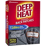 Deep Heat Back Patches, 2 Count