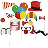 Paper Carnival Photo Booth Stick Props