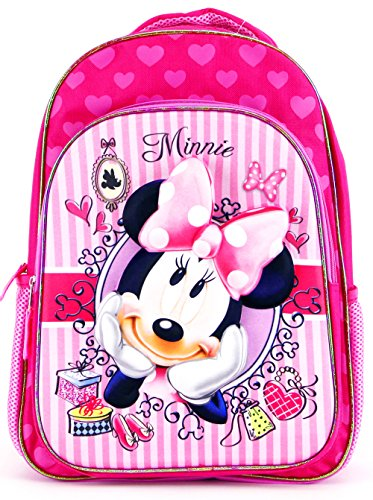 Disney Junior(ディズニージュニア)Minnie Mouse(ミニーマウス)3D Backpack(バックパック・リュック) [並行輸入品]