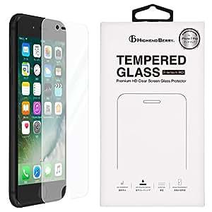 Highend berry iPhone8 iPhone7 Plus ガラスフィルム アイフォン7 プラス アイフォン8 プラス 日本製 アンチグレア 強化ガラス 液晶 保護 フィルム 硬度9H 0.33mm