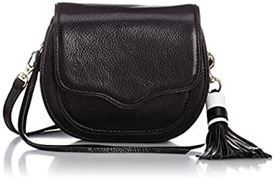 [レベッカミンコフ] REBECCA MINKOFF MINI SYDNEY CROSSBODY 887-0130012-210-1 210 (BLACK)