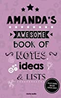 Amanda's Awesome Book of Notes, Lists & Ideas: Featuring Brain Exercises!