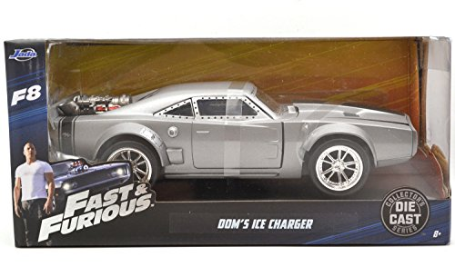 "JadaTOYS 1:24SCALE ""THE FAST AND THE FURIOUS""FAST 8 ワイルド・スピード ICE BREAK ""Dom's ICE CHARGER"" ジェイダトイズ 1:24スケール「ワイルドスピード」「ドミニク アイス・チャージャー」 98291 [並行輸入品]"