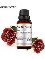 AMBER ARCTIC エッセンシャル オイル ディフューザー 用 100% 純粋 新鮮 有機 植物 セラピー オイル 30Ml ローズ ローズ