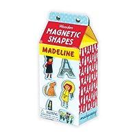 マドレーヌ Madeline 木製マグネット9811【絵本 おもちゃ 磁石 インポート グッズ】