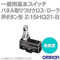 オムロン(OMRON) Z-15HQ21-B マイクロスイッチZシリーズ (パネル取りつけクロス・ローラ押ボタン形) NN