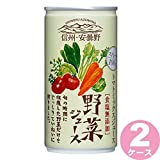 信州・安曇野野菜ジュース(食塩無添加) 190ml ×60本ゴールドパック[飲料]