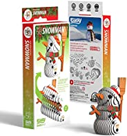 EUGY 056 Snowman Eco-Friendly 3D Paper Puzzle