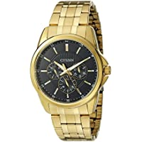 Citizen Men's Quartz Watch with 12/24 hour time and Day/Date, AG8342-52L