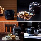 【Amazon.co.jp限定】 アイリスオーヤマ 炊飯器 マイコン式 5.5合 極厚火釜 銅コート 銘柄炊き分け機能付き ブラック RC-MA50AZ-B
