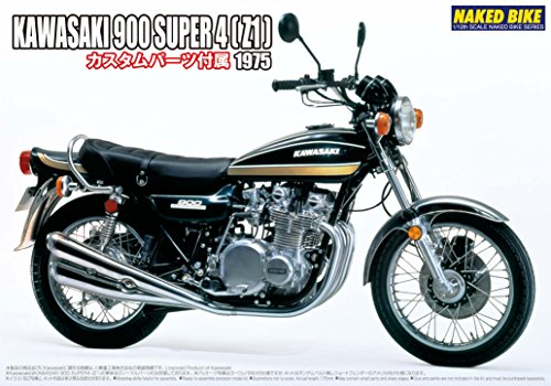 1/12 ネイキッドバイク No.82 カワサキ900 SUPER4 (Z1) カスタムパーツ付き