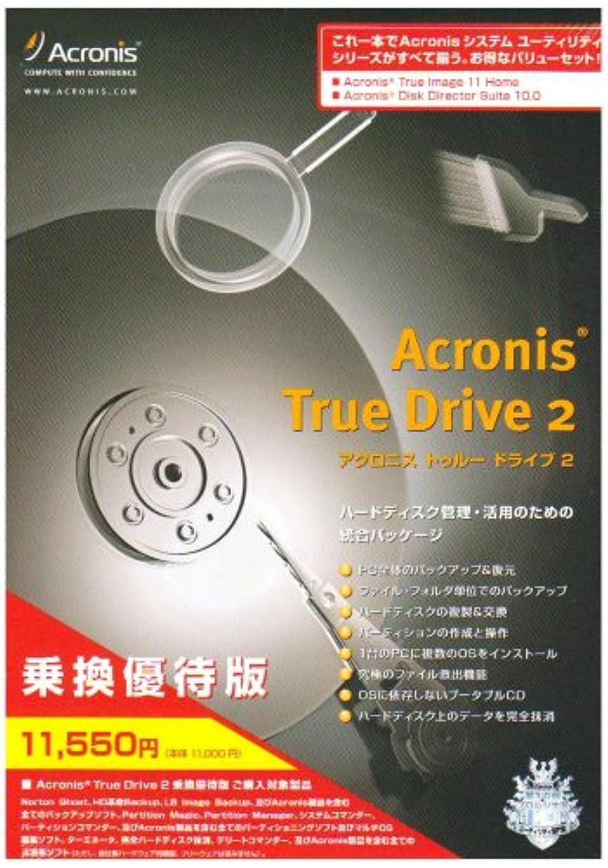 セイはさておきスクラッチセンターAcronis True Drive 2 乗換優待版