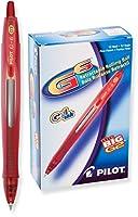 Pilot g6格納式GelインクRolling Ballペン、細かい点、ブラックインク(31411) Dozen Box