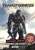Transformers the Last Knight Movie Sticker Activity Book