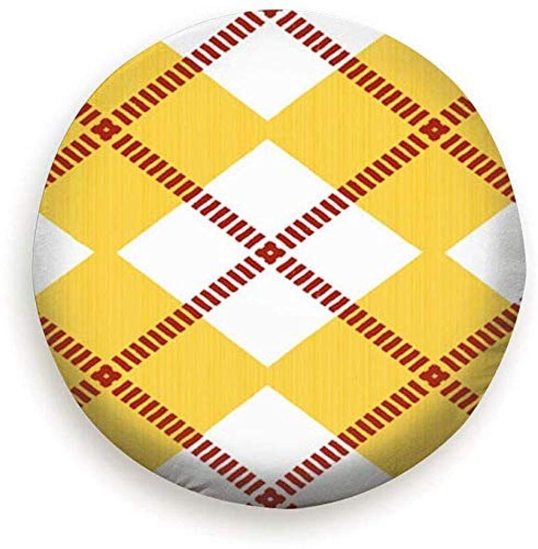 知っているに立ち寄るボトルクロール黄色と白のひし形のレトロでスタイリッシュなユニバーサルスペアタイヤカバー(14、15、16、17インチ)