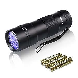 Vansky紫外線 ブラックライト UVライトレジン用硬化ライト【一年保証】 目には見えない汚れに対策に (ブラック)