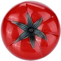 キッチンタイマー トマトタイマー 0~60分 360 度 メカニカルタイマー トマト型 調理 用具 かわいい 機械計数(S(6.3*4.5cm))