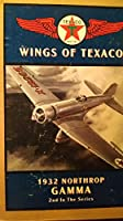 Wings of Texaco 1932 Northrop Gamma Airplane Coin Bank -2nd In The Series by ERTL COLLECTION