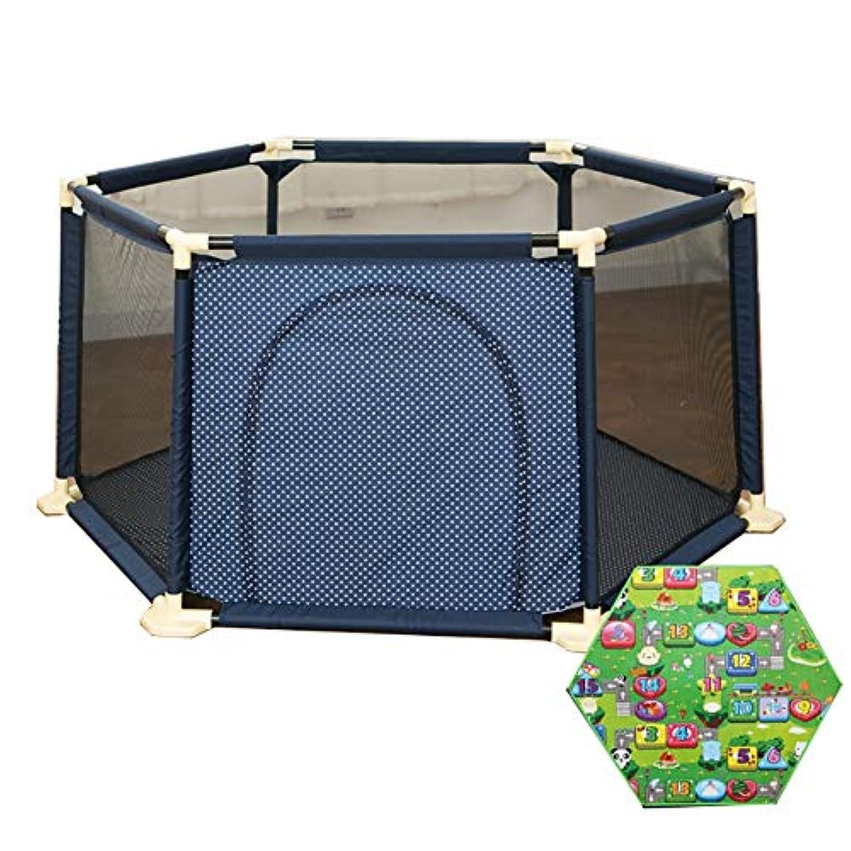 遊び場遊び庭園幼児遊び場遊び場屋内幼児遊び場ポータブル子供安全柵遊びペンクロールマット