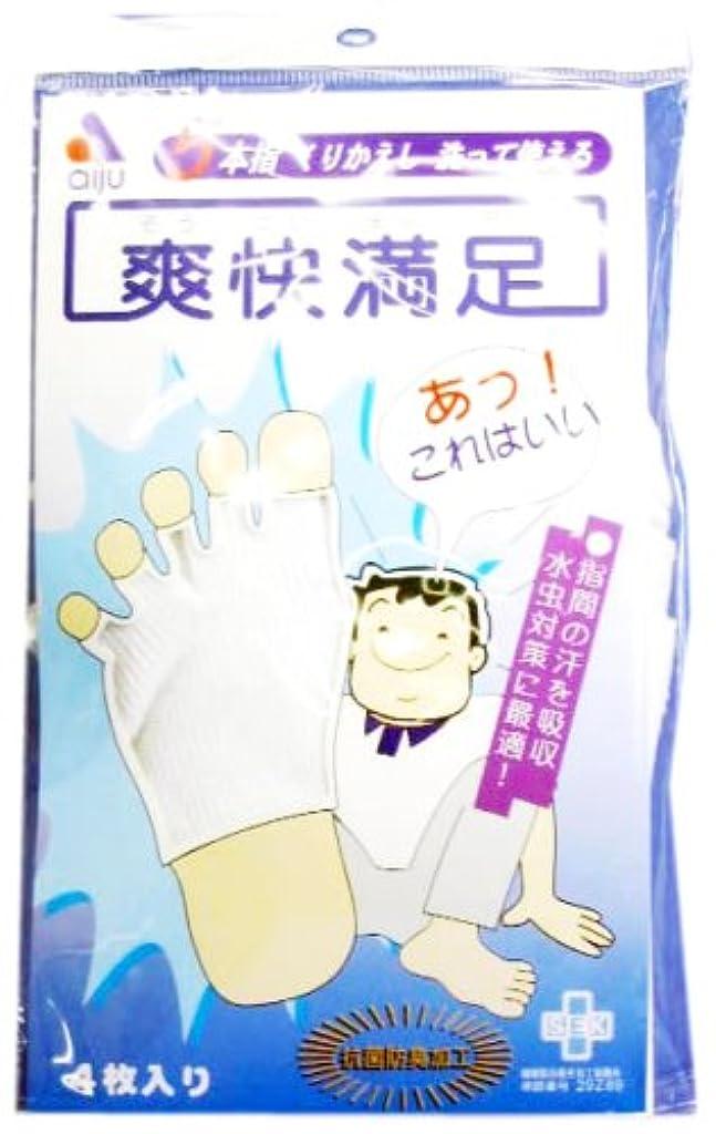 ジャグリング敷居アンペア爽快満足 5本指ソックス(4枚入)