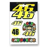 VR46 (motoGP正規輸入品) Valentino Rossi(バレンティーノ・ロッシ) SMALLステッカー46 VR-UST-212503