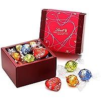 リンツ (Lindt) チョコレート リンドール クラシックギフトボックス [バレンタインギフト] 12個入りショッピングバッグS付