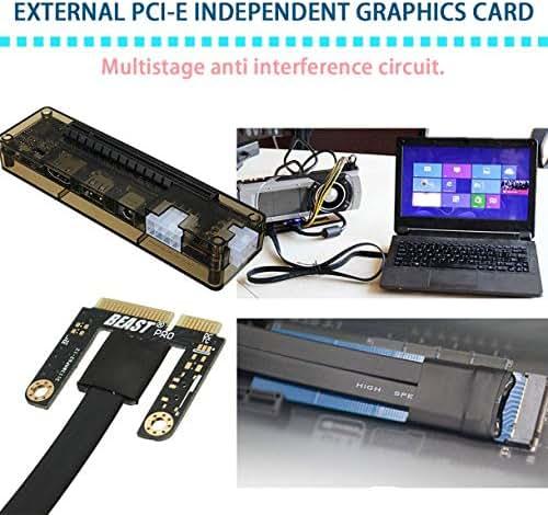 uqiangbao Professional V8.0 Exp Gdc Beast Laptop External Independent Video Card Dock Mini Pci-E Graphics Card for Notebook