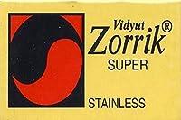 Zorrik Super Stainless 両刃替刃 5枚入り(5枚入り1 個セット)【並行輸入品】
