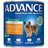Advance Wet Dog Food, Adult and Senior Dog - All Breed, Casserole with Chicken, 12x700g