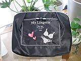 シルエット Perfume ランジェリーケース ブラック 旅行 下着入れ 着替え バッグインバッグ ランジェリー