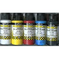 Vallejo Color Set Opaque Basics Premium RC Colors [並行輸入品]