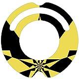 ルンバ ステッカー デコルン 【大胆な星柄スター】★ラミネート加工で保護★再剥離可能で安心★対応機種:ルンバ 620 621 622 630 650 527 530 537 577 560