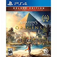 Assassin's Creed Origins Deluxe Edition PlayStation 4 アサシンクリードオリジンズデラックスエディション プレイステーション4北米英語版 [並行輸入品]
