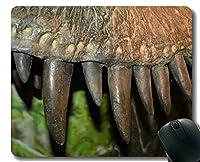 滑り止めのゴム製賭博のマウスパッド、ステッチの端が付いている古代恐竜のマウスパッド