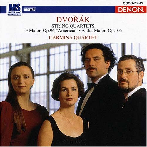ドヴォルザーク:弦楽四重奏曲第12番&第14番