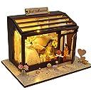 リトルスワロー 世界のおしゃれなショップ ミニチュア ドールハウス 模型 DIY 工作キット セット (ジャスト婚礼店)