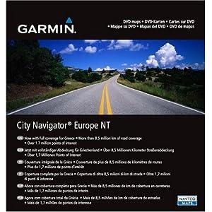 GARMIN MapSource CityNavigator Europe NT(DVD版)