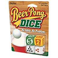 ICUP ipartyhard–Beer Pong Dice Adult Drinking Game