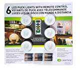 6 X LED Wireless Puck Lights with Remote Control [並行輸入品]