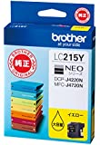 brother インクカートリッジ大容量タイプ (イエロー) LC215Y
