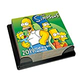 The Simpsons Desk Block 2019 Calendar - Page a Day Desk Block Format