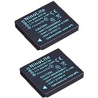 NinoLite DMW-BCF10 互換 バッテリー 2個セット パナソニック DMC-FX700 DMC-FX70 DMC-FX40 DMC-FX66 等対応 dmwbcf10x2_t.k.gai