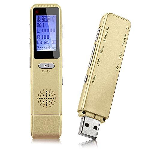 ボイスレコーダー MAOZUA icレコーダー 8GB専門デ...