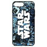 グルマンディーズ 〈STAR WARS〉IIIIfi+(R)(イーフィット) iPhone8Plus/7Plus/6sPlus/6Plus(5.5インチ)対応ケース コミック・ブルー stw-94a