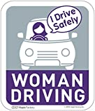 カーマグネット Woman Driving(ナイト&クール)