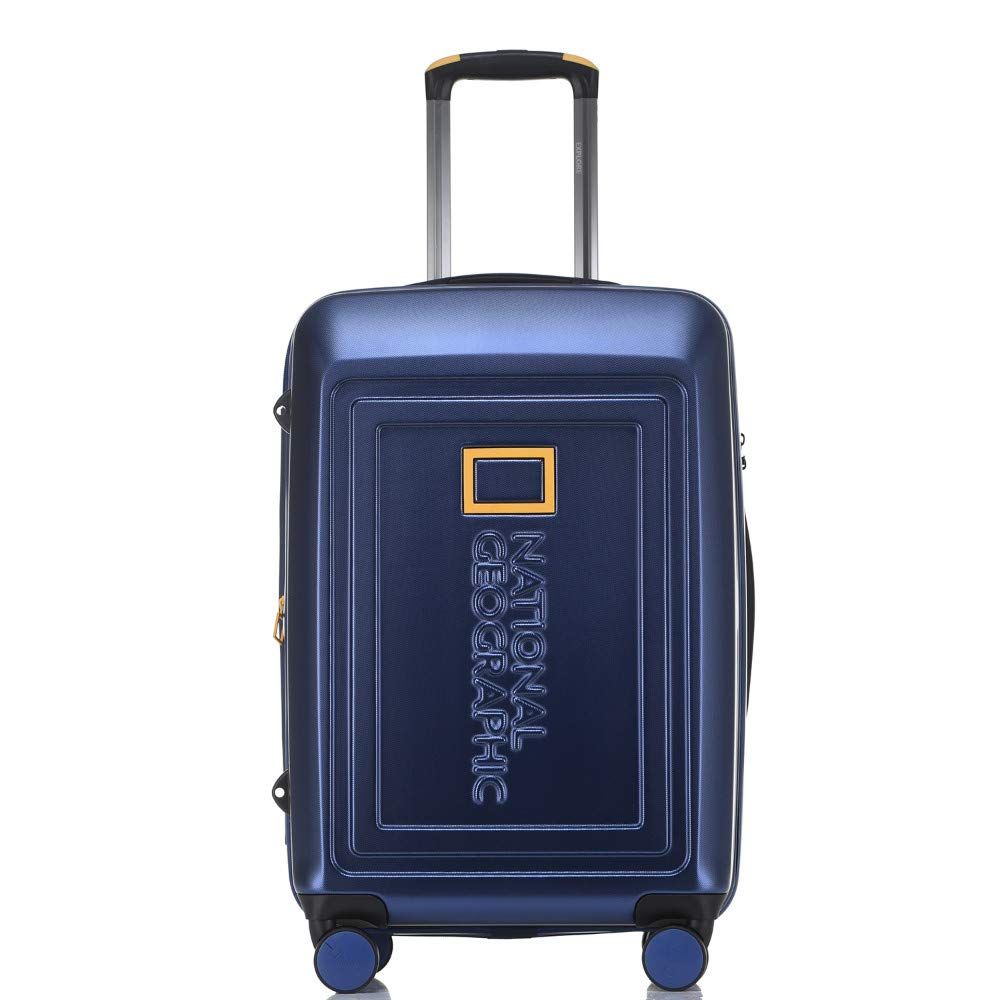 National Geographic NG01-64-B Destination Hardside 8WD Medium Trolley Case Blue
