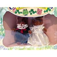 Calico Critters Marmalade Bear Wedding Set Retired 1993 #2835