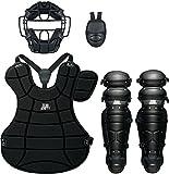 ZETT(ゼット) 野球用 軟式 キャッチャー 防具4点セット BL302SET ブラック(1900)